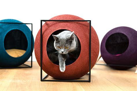 designboom cat furniture chic cat bed designers debut more classy furniture for