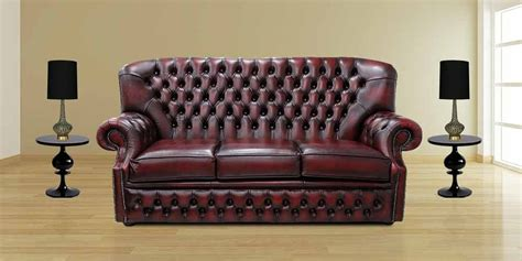 chesterfield oxblood sofa monks chesterfield 3 seater antique oxblood leather sofa offer