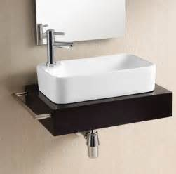 modern sinks for bathrooms gorgeous modern rectangular vessel sink by caracalla