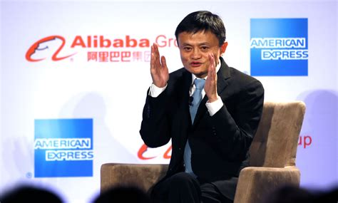 alibaba owner name alibaba s jack ma calls internet treasure island for
