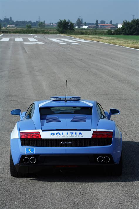 police lamborghini gallardo lamborghini donates the new gallardo lp560 4 polizia to