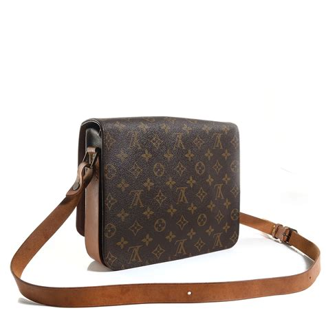 Louis Vuitton Tressage Classic 2993 louis vuitton vintage monogram cartouchiere 26 86539