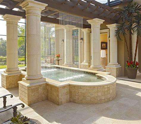 19 best images about homes indoor pools waterfalls on
