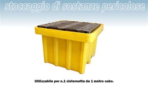 vasche di contenimento liquidi vasca contenimento liquidi in pe 1050 lt