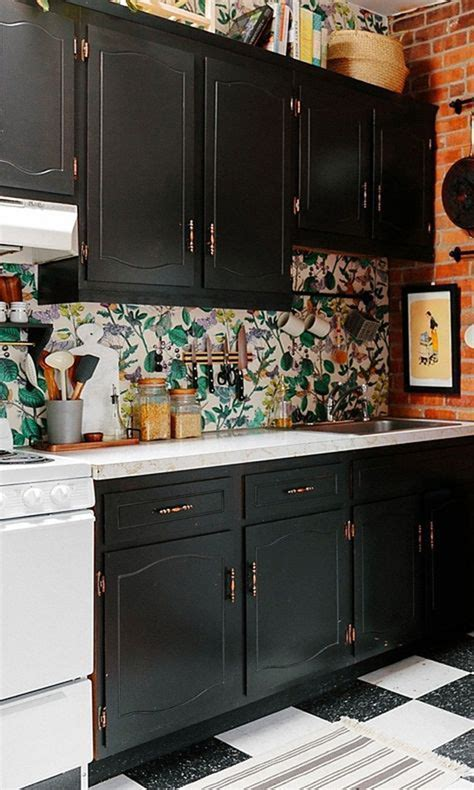 20 beautiful wallpaper kitchen backsplashes with nature