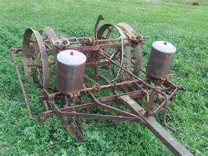 mccormick deering 2 row planter to be restored