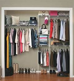 Closet Clothes Hanging Systems Home Closet Organizer Kit Shelving System Clothes Rack