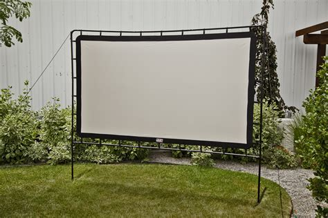 backyard projector screen responsive image