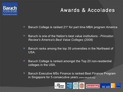 Baruch Part Time Mba Admissions by Aventis Baruch