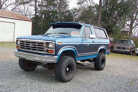 1982 Ford Bronco by 1982 Ford Bronco For Sale Clinton Arkansas