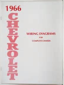 1966 chevy belair impala full size wiring diagram ebay