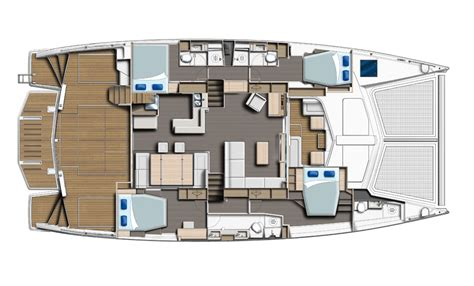catamaran floor plans leopard 58 leopard catamarans uk