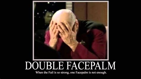 pics for gt triple facepalm picard