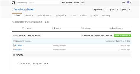 ubuntu installing git server installing git on ubuntu 14 04