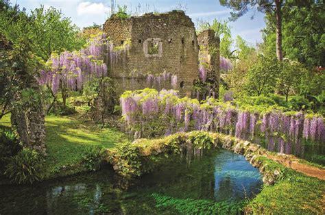 giardino di ninfa ninfa e sermoneta nei colori dell inizio d autunno