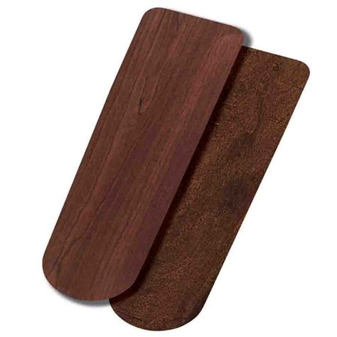 hunter fan replacement blades lowes shop hunter 5 pack 18 75 in dark cherry reversible ceiling