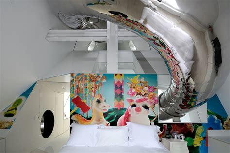 slide in bedroom skyhouse an new york penthouse with climbing column slide