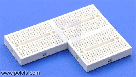 Produk Jumper Wires White Header 4 Pin pololu 170 point breadboard white