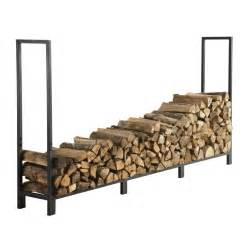 shop style selections 8 ft heavy duty log rack at lowes