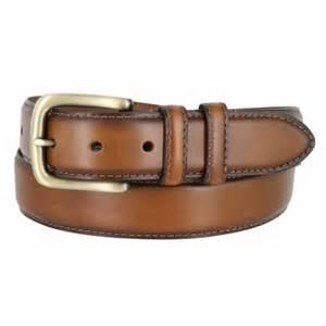 s genuine leather dress belt 1 3 8 quot wide