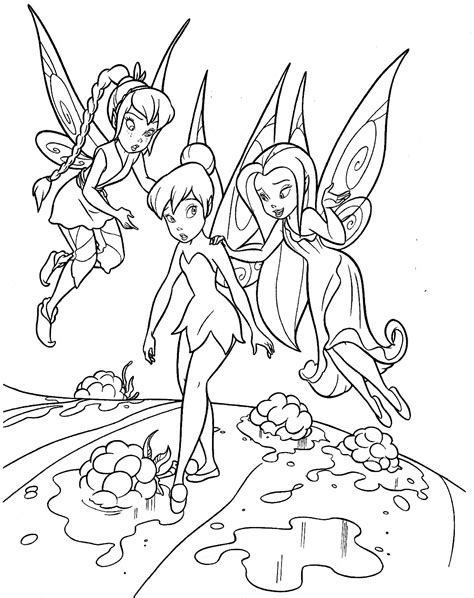 tinkerbell coloring pages 22 coloring kids