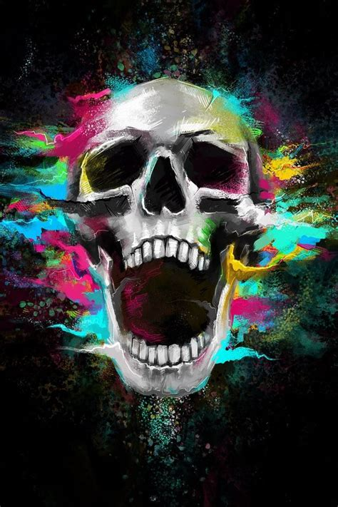 skull themes for iphone 4s crazy shouting skull iphone 4s wallpaper iphone 4 s