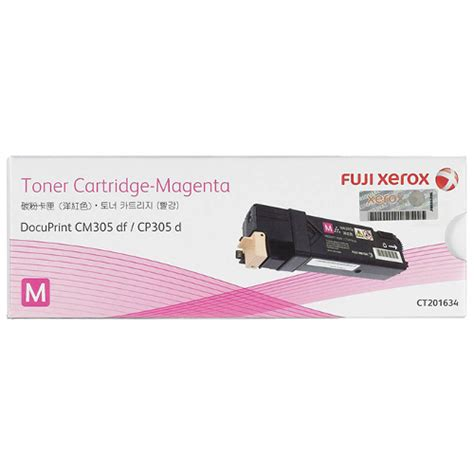 Toner Fuji Xerox Ct202020 Original fuji xerox ct201634 magenta toner cartridge genuine inkdepot