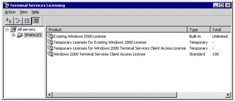 service license windows server 2012 terminal services licensing