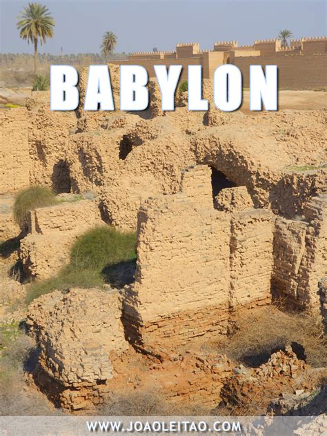 In Babylon visit iraq 25 amazing places possible to travel in 2018 2019