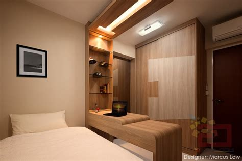 Open Kitchen Cabinet Designs 10 stylish hdb bedrooms in singapore you won t mind