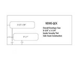 Window Envelope Template by Envelopes Cardinal Graphics Printing Services Of All