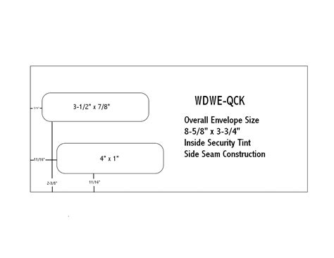 standard window envelope template 10 window envelope images