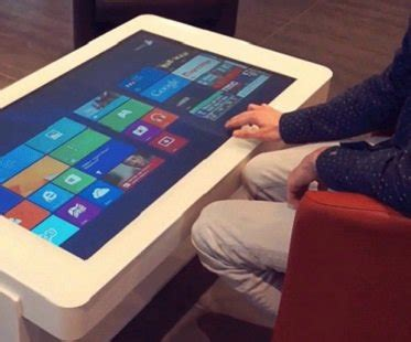 Touch Screen Coffee Table Touch Screen Coffee Table For Sale