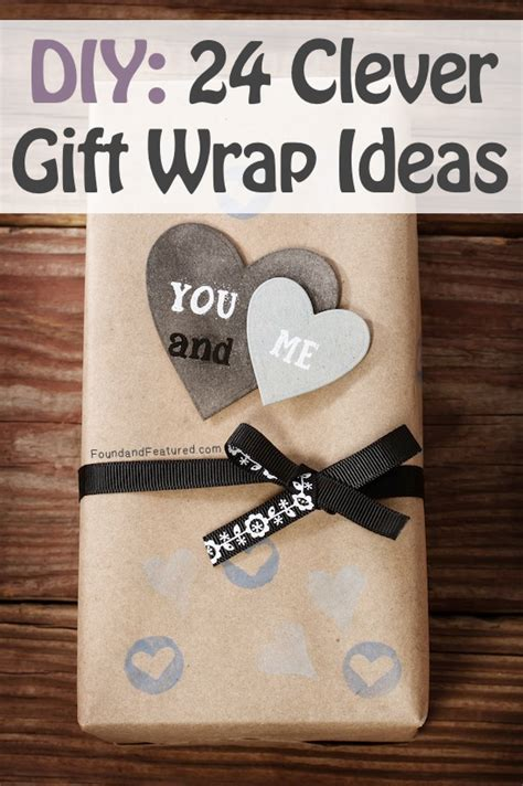 the best do it yourself gifts fun clever and unique diy 24 clever diy gift wrap ideas
