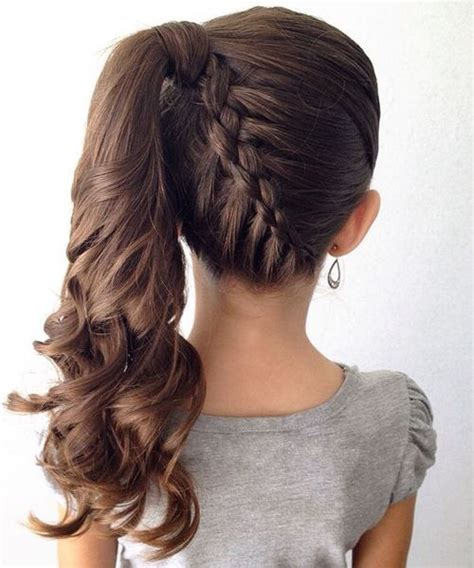 ponytail hairstyles for 8 year olds gorgeous side ponytails ideas gorgeous hairstyles