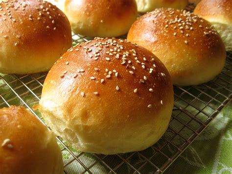 bun recipe light brioche burger buns recipe dishmaps