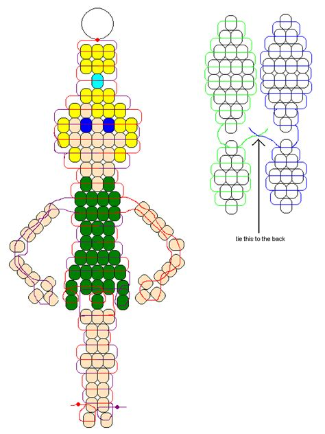 pony bead patterns free for tinker bell pony bead pattern craft ideas