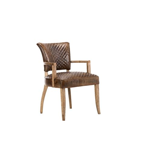 Dining Chairs With Arms Uk Timothy Oulton Mimi Quilt Dining Chair With Arms