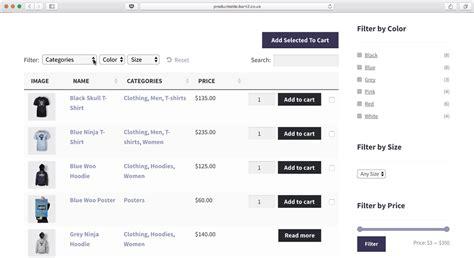 product listing layout style zen cart 워드프레스 테이블양식 플러그인 픽셀디자인