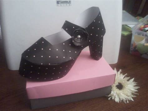 Paper Shoe Craft -