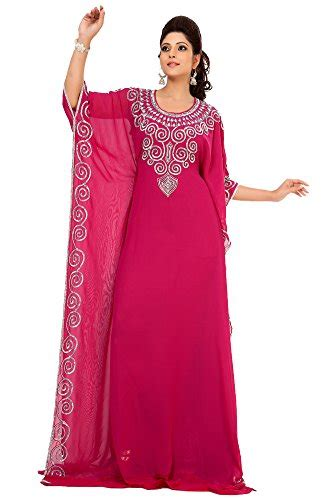 Dress Abu palas fashion s designer abaya dress large pink buy in uae apparel