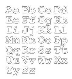 Galerry printable coloring letters of the alphabet