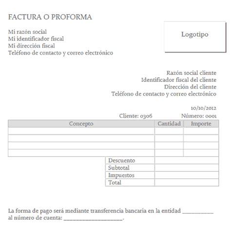 descargar plantillas facturas servicios profesionales plantilla de word para facturas simple xelso blog