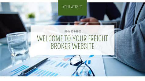 Freight Broker Website Templates Godaddy Freight Broker Website Templates