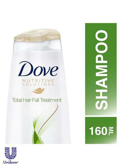 Shoo Dove Hair Fall Treatment dove shoo total hair fall treatment dmt btl 160ml klikindomaret