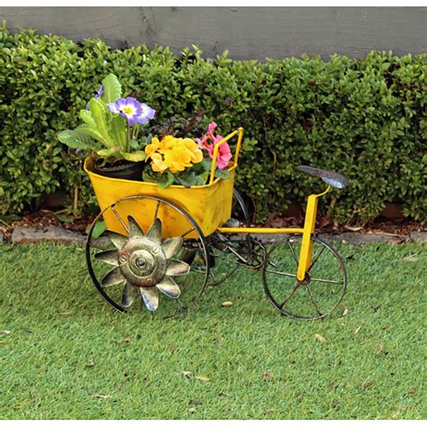 Garden Wagon Planter by Yellow Metal Wagon Planter 31cm Width On Sale Fast