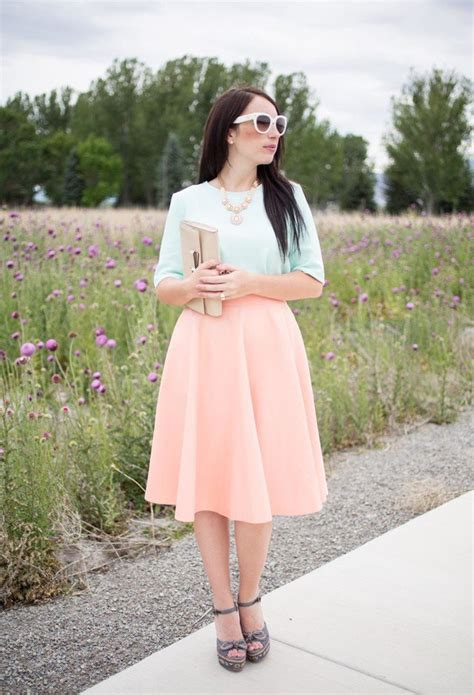 fantastic ideas with feminine midi skirts pretty