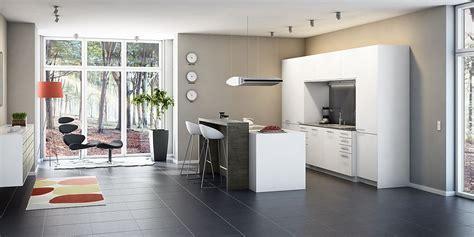 wohnküchen modern maritim wohnzimmer