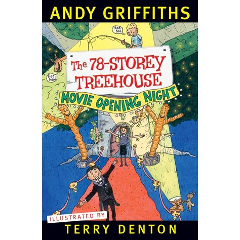 tree house books the 78 storey treehouse by andy griffiths book kmart