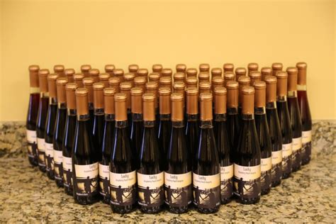 Handcrafted Wine - custom wine bottle favors created at your own winery